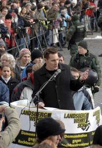 Landsberg wehrt sich! Anti-Nazi-Demo am 30.11.2008 in Landsberg c-2008 Thorsten Jordan