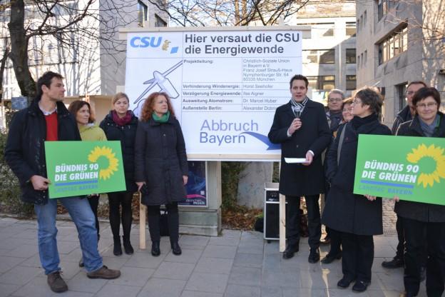 Ludwig Hartmann, MdL, Fraktionsvorsitzender der Grünen im Bayerischen Landtag