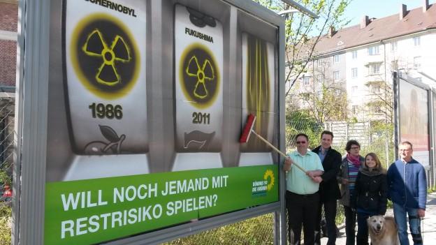 150420 Plakataktion Tschernobyl 1